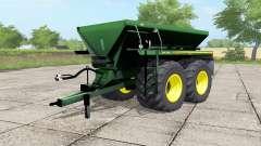 John Deere DN345 spanish green for Farming Simulator 2017