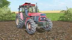 Ursus 1614 fiery rose for Farming Simulator 2017