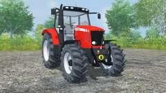 Massey Ferguson 5475 light brilliant red for Farming Simulator 2013