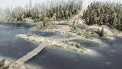 Spruce slides for MudRunner