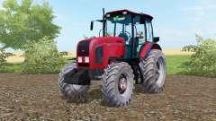 MTZ-Belarus 2022.3 bright red color for Farming Simulator 2017