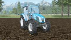 New Holland T4.65 front loader for Farming Simulator 2015