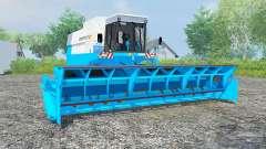 Fortschritt E 517 vivid sky blue for Farming Simulator 2013
