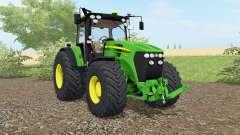 John Deere 7930 vivid malachite for Farming Simulator 2017