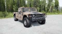 Hummer H1 pickup for MudRunner