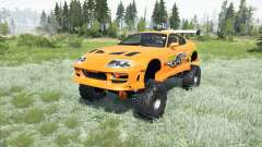Toyota Supra Fast & Furious (JZA80) 2001 4x4 for MudRunner