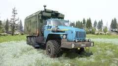 Ural-4320 soft-blue color for MudRunner
