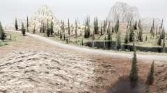 On the border of Utah and Nevada for MudRunner