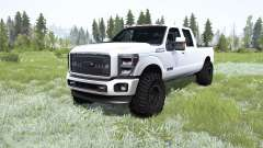 Ford F-350 Super Dutỿ Crew Cab 2016 for MudRunner