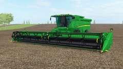 John Deere S690i north texas greeᶇ for Farming Simulator 2017