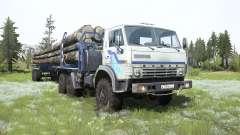 KamAZ-4310 truck for MudRunner