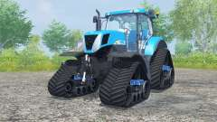 New Holland T7030 track systems for Farming Simulator 2013