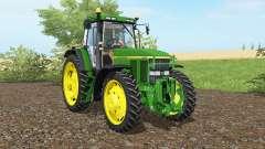 John Deere 7810 islamic greeɲ for Farming Simulator 2017