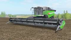 Fendt 9490 X with baler attacher for Farming Simulator 2017