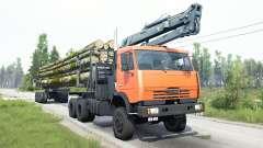 KamAZ-65111 for MudRunner