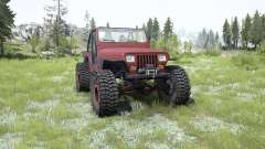 Jeep Wrangler (YJ) pale carmine for MudRunner