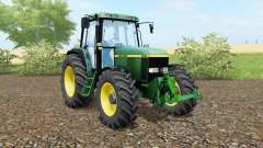 John Deere 6810 animated steering for Farming Simulator 2017