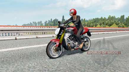 Motorcycle Traffic Pack v3.0.1 for Euro Truck Simulator 2