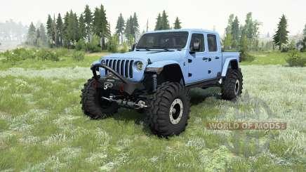 Jeep Gladiator (JT) 2019 for MudRunner