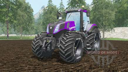 New Holland T8.420 vivid mulberry for Farming Simulator 2015