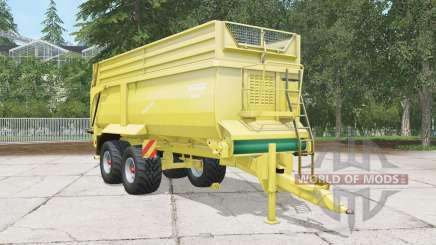 Krampe Bandit 750 arylide yellow for Farming Simulator 2015
