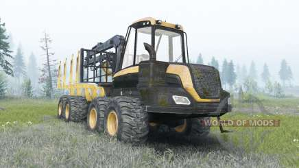 Ponsse Buffalo v1.1 for Spin Tires