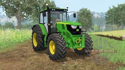 John Deere 6115M wheel shader for Farming Simulator 2015