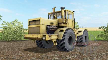 Kirovets K-700A soft yellow okra for Farming Simulator 2017