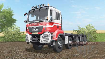 MAN TGS hooklift 2015 for Farming Simulator 2017