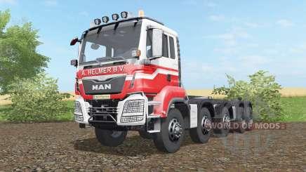 MAN TGS hooklift 2015 for Farming Simulator 2017