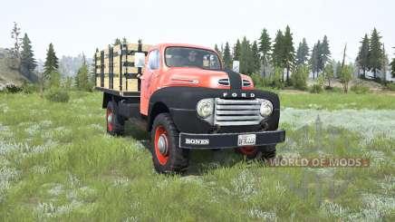 Ford F-3 1953 v1.2 for MudRunner