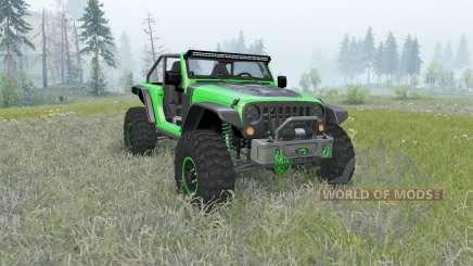 Jeep Wrangler (JK) Trailcat for Spin Tires