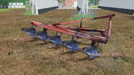 PLN 5-35 moderately red color for Farming Simulator 2015