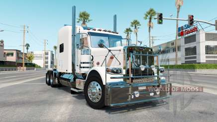 Peterbilt 389 rose white for American Truck Simulator