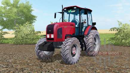 MTZ-Belarus 2022.3 bright red color for Farming Simulator 2017