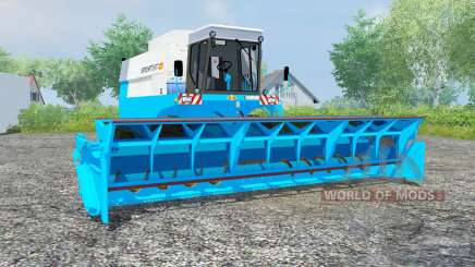 Fortschritt E 517 vivid sky blue for Farming Simulator 2013