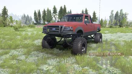 Ford Ranger Super Cab 2009 for MudRunner