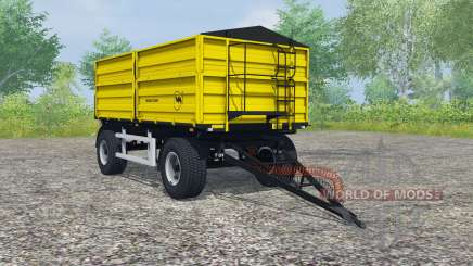 Wielton PRS-2-W14 safety yellow for Farming Simulator 2013