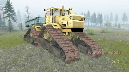 Kirovets K-700A crawler for Spin Tires