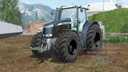 Massey Ferguson 7726 black for Farming Simulator 2015