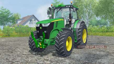 John Deere 7200R north texas green for Farming Simulator 2013