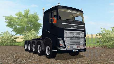 Volvo FH 10x10 sleeper cab 2012 for Farming Simulator 2017