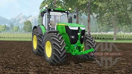 John Deere 7310R wheel shadeᶉ for Farming Simulator 2015
