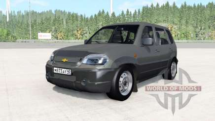 Chevrolet Niva dark grey for BeamNG Drive