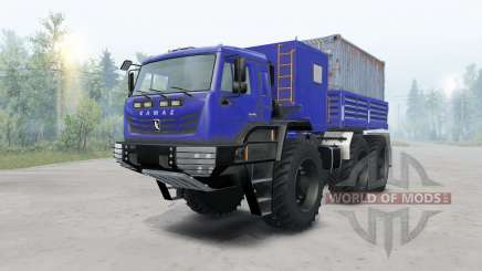 KamAZ-Arctic v1.1 for Spin Tires