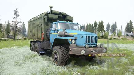 Ural-4320 soft-blue color for MudRunner
