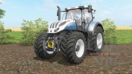 Steyr Terrus 6270&6300 CVƬ for Farming Simulator 2017
