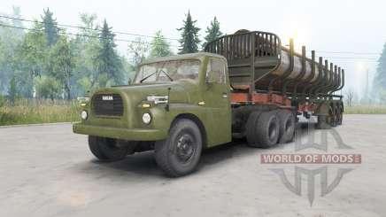 Tatra T148 6x6 v1.1 for Spin Tires