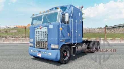 Kenworth K100 carolina blue for Euro Truck Simulator 2