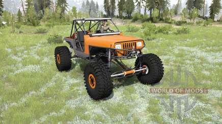 Jeep Wrangler 40OZ Juggy for MudRunner